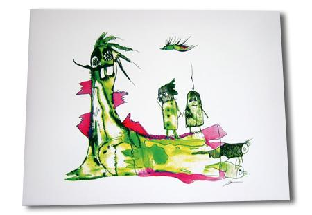 kunst-leinwand